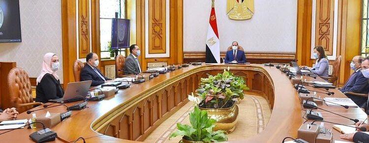 اجتماع السيسي ومجلس الوزراء
